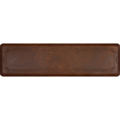 Kada Rectangle Kitchen Mat Color: Rustic