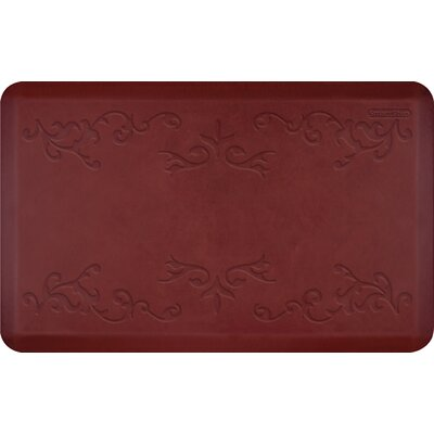Vineyard Mat Color: Merlot