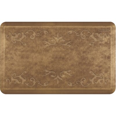 Vineyard Mat Color: Brushed Gold