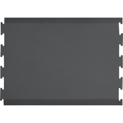 Puzzle Piece Center Utility Mat Color: Gray