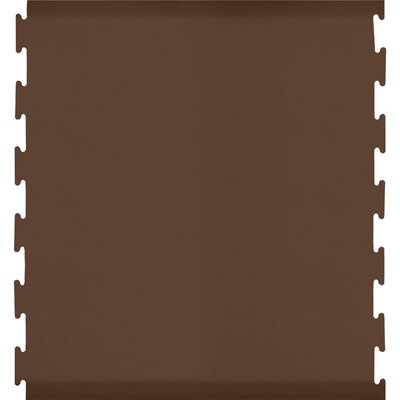 Black Puzzle Piece Center Utility Mat Color: Brown, Rug Size: Rectangle 46 x 2
