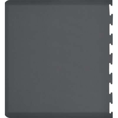 Rectangle Puzzle Piece Left Utility Mat Color: Gray, Rug Size: Rectangle 49 x 3