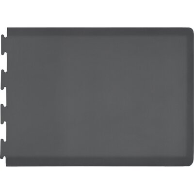 Rectangle Puzzle Piece Right Utility Mat Color: Gray