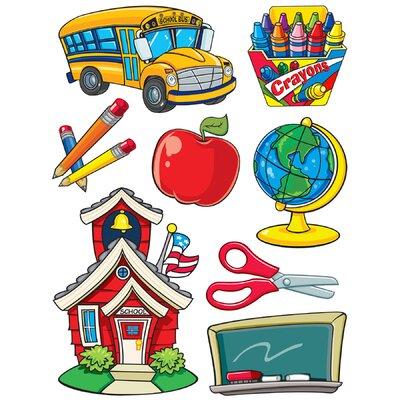 More School Supplies Window Cling EU-846021