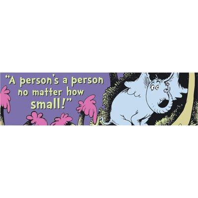 Banner Horton Person A Person Poster EU-849666