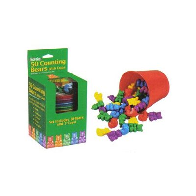 Counting Bear Cups 50 Bears 5 EU-864040