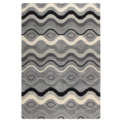 Ashland Grey Rug Rug Size: Rectangle 5 x 76