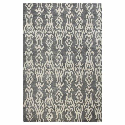 Ashland Grey Area Rug Rug Size: 76 x 96