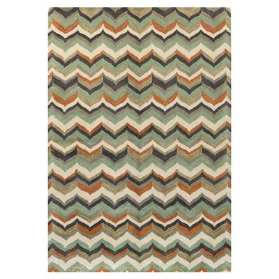 Ashland Light Green Area Rug Rug Size: 36 x 56