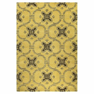 Manorville Gold Area Rug Rug Size: Rectangle 5 x 76