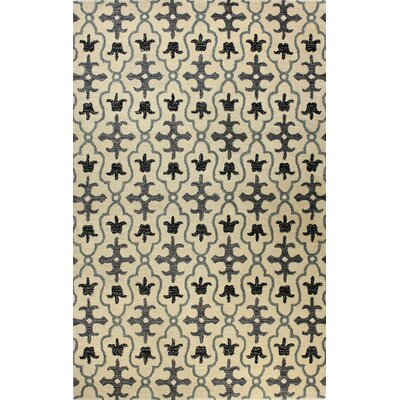 Manorville Ivory Rug Rug Size: Rectangle 5 x 76