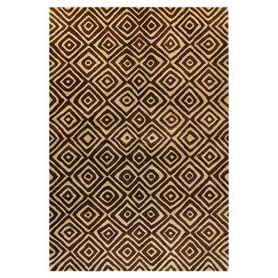 Ashland Chocolate Area Rug Rug Size: Rectangle 5 x 76