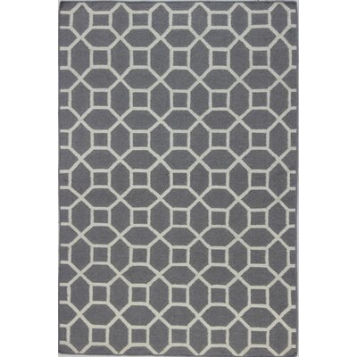 Rockport Taupe Area Rug Rug Size: Rectangle 36 x 56