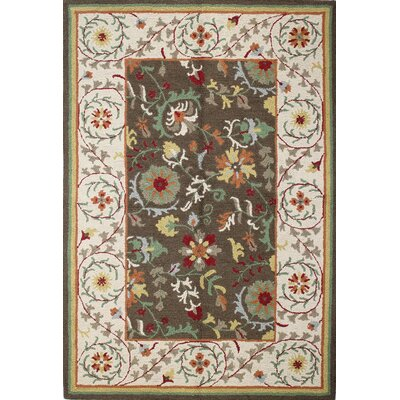 Rajapur Chocolate Rug Rug Size: Rectangle 5 x 76