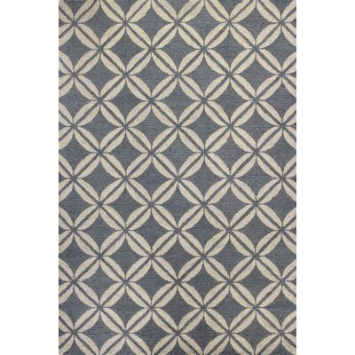 Rajapur Grey Rug Rug Size: 7 x 9