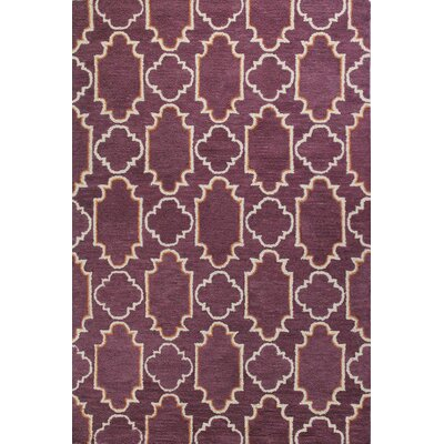 Rajapur Lilac Area Rug Rug Size: Rectangle 5 x 76