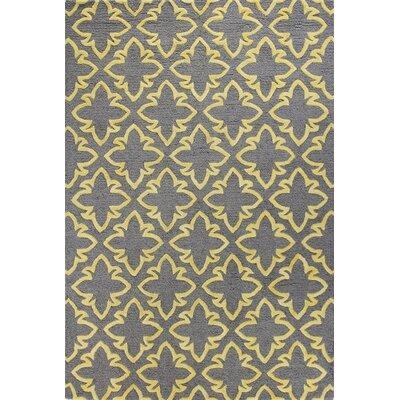 Rajapur Grey Rug Rug Size: Rectangle 5 x 76