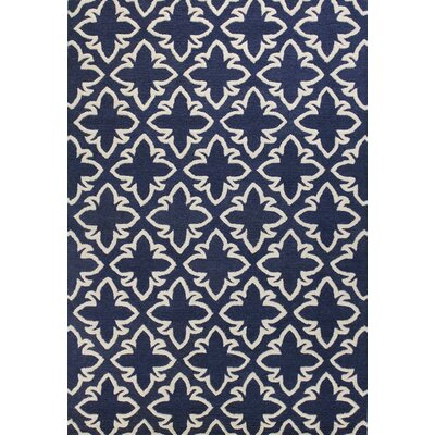 Rajapur Navy Rug Rug Size: Rectangle 5 x 76