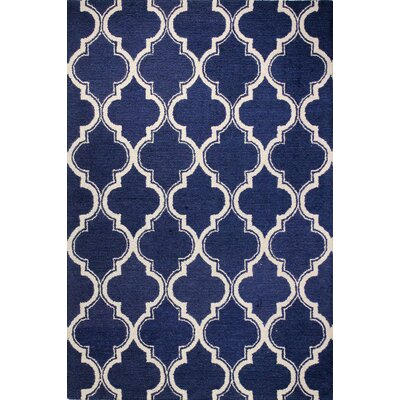 Rajapur Navy Rug Rug Size: Rectangle 7 x 9