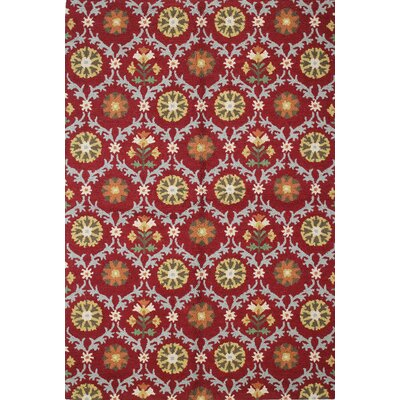 Rajapur Red Rug Rug Size: Rectangle 5 x 76