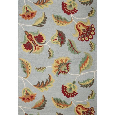 Rajapur Flower Novelty Area Rug Rug Size: 7 x 9