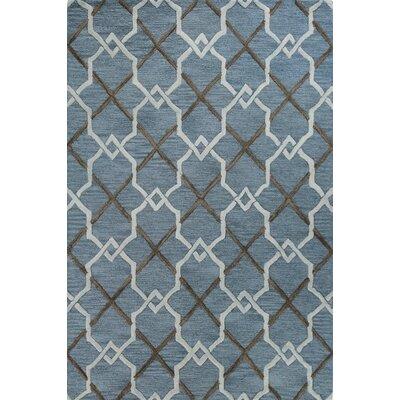 Rajapur Teal Rug Rug Size: Rectangle 5 x 76