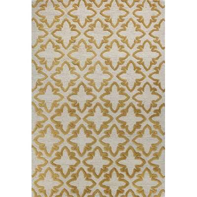 Rajapur Ivory Rug Rug Size: Rectangle 5 x 76