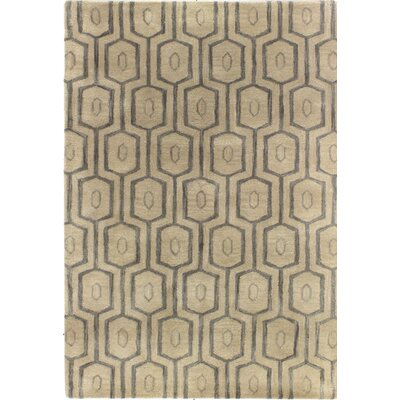 Ashland Beige Rug Rug Size: Rectangle 36 x 56