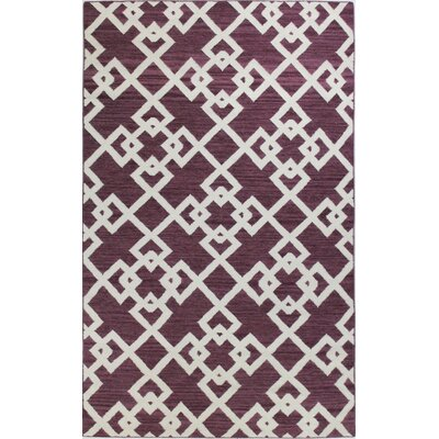 Rockport Lilac Area Rug Rug Size: Rectangle 5 x 76