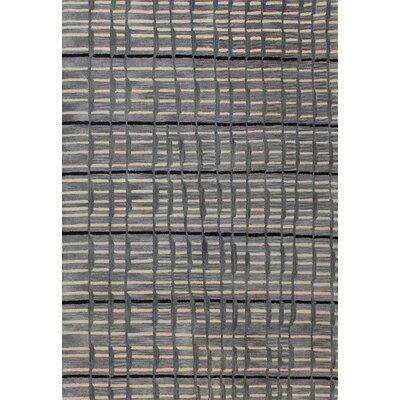 Ashland Grey Area Rug II Rug Size: 5 x 76