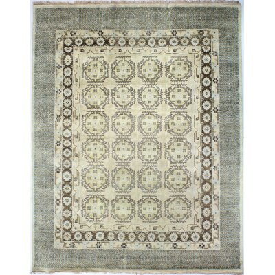 Charleston Gold Area Rug Rug Size: 99 x 139