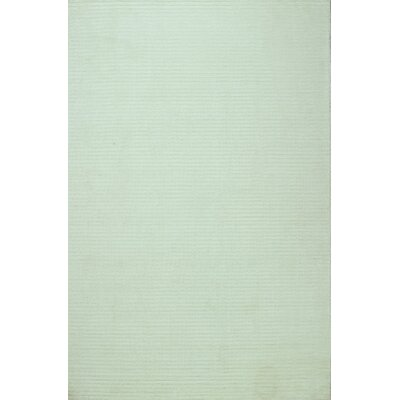 Opulent White Area Rug Rug Size: 56 x 86