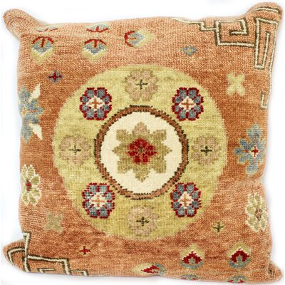Ridgewood Throw Pillow Size: 24 H x 24 W x 0.75 D, Color: Rust