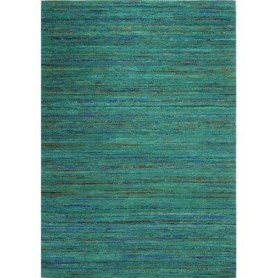 Bohemian Green Area Rug Rug Size: 59 x 89