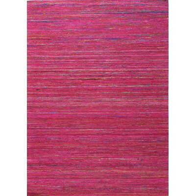 Bohemian Red/Blue Area Rug Rug Size: 59 x 89