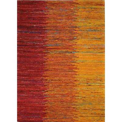Bohemian Hand Woven Sunset Area Rug Rug Size: Rectangle 59 x 89