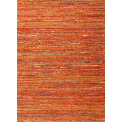 Shepherd Hand Woven Sunset Area Rug Rug Size: Rectangle 76 x 96
