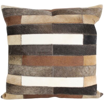 Dakota Geometric Throw Pillow Size: 18 H x 18 W