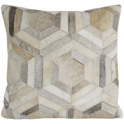 Dakota Hair Throw Pillow Size: 18 H x 18 W