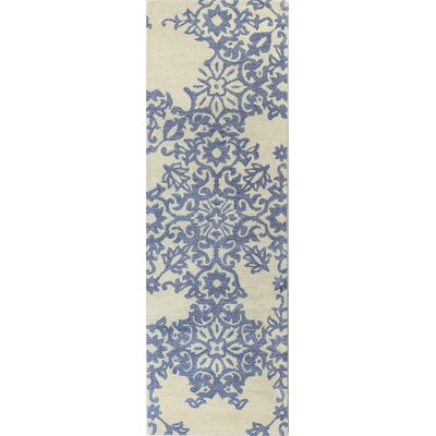 Libramont Hand Tufted Ivory Area Rug Rug Size: Runner 26 x 8