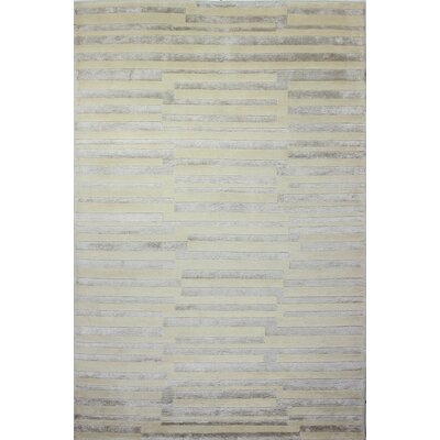 Sussex Beige Area Rug Rug Size: 39 x 59