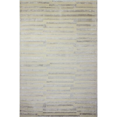 Sussex Beige Area Rug Rug Size: 59 x 89