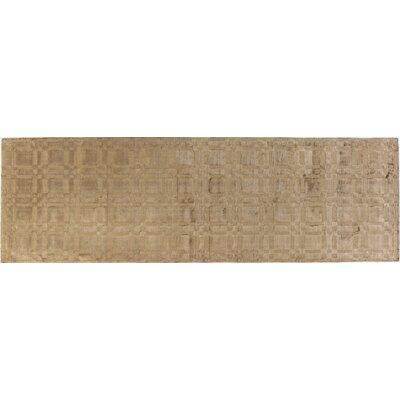 Opulent Mocha Rug Rug Size: Runner 26 x 8