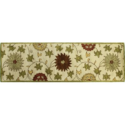 Essex Ivory Area Rug Rug Size: Runner 26 x 8