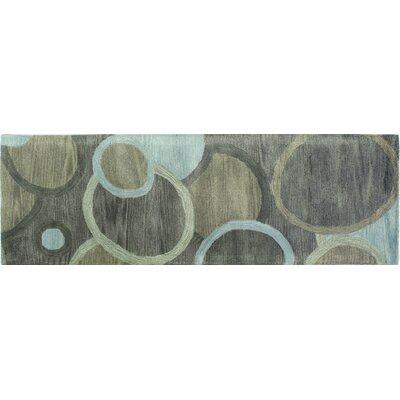 Ashland Grey Rug Rug Size: Runner 26 x 8