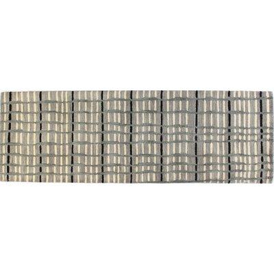 Ashland Grey Area Rug II Rug Size: Runner 26 x 8