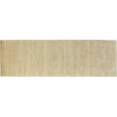 Opulent Butternut Area Rug Rug Size: Runner 26 x 8