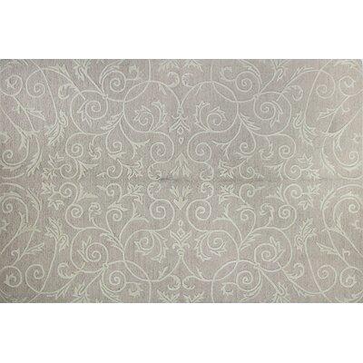 Karma Hand Tufted Wool/Silk Beige Area Rug Rug Size: Runner 26 x 8