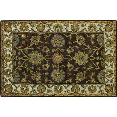Punjab Chocolate Area Rug Rug Size: 5 x 76