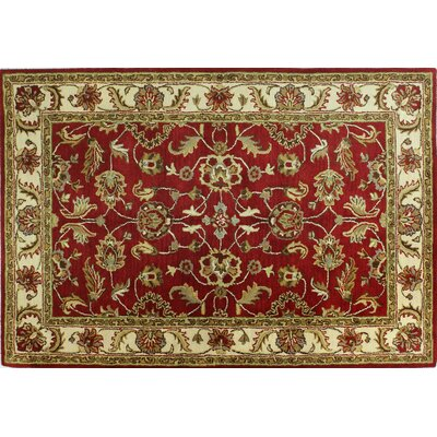 Punjab Red Area Rug Rug Size: 76 x 96